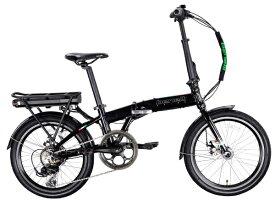 BENELLI ベネリ 【eバイク】20型 折りたたみ電動アシスト自転車 ZERO N2.0(ブラック/外装7段変速)【組立商品につき返品不可】 【代金引換配送不可】