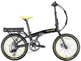 BENELLI ベネリ 折りたたみ電動アシスト自転車 ZERO N2.0FAT マットブラック [7段変速 /20インチ]【組立商品につき返品不可】 【代金引換配送不可】
