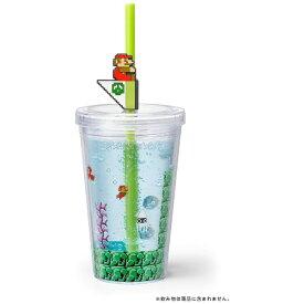 任天堂販売 Nintendo Sales スーパーマリオ ホーム&パーティ ストロータンブラー(水中コース)