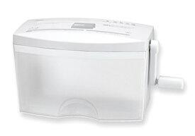 アスカ ASKA ハンドクロスカットシュレッダー オールインワン [クロスカット /A4サイズ /CDカット対応][HC456CD]