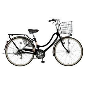 MARUKIN マルキン 27型 自転車 フロートミックス 276-B(ブラック/6段変速) MK-20-026【2020年モデル】【組立商品につき返品不可】 【代金引換配送不可】