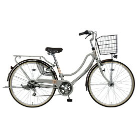MARUKIN マルキン 27型 自転車 フロートミックス 276-B(グレー/6段変速) MK-20-026【2020年モデル】【組立商品につき返品不可】 【代金引換配送不可】