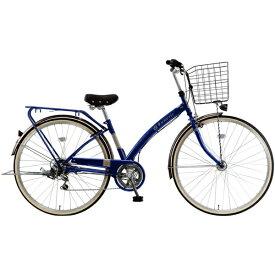 MARUKIN マルキン 27型 自転車 ルネシック276-B(ダークブルー/6段変速) MK-20-034【2020年モデル】【組立商品につき返品不可】 【代金引換配送不可】