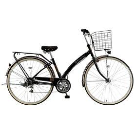 MARUKIN マルキン 27型 自転車 ルネシック276-B(ブラック/6段変速) MK-20-034【2020年モデル】【組立商品につき返品不可】 【代金引換配送不可】