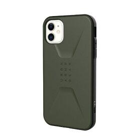 UAG URBAN ARMOR GEAR UAG iPhone 11 CIVILIAN Case(オリーブドラブ) UAG-RIPH19MS-OD
