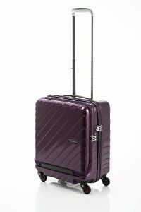 HIDEO WAKAMATSU スーツケース ジッパー フロントオープン ウェーブ2 50cm 85-7657