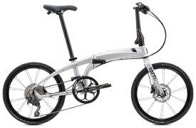 TERN ターン 20型 折りたたみ自転車 Verge P10(Matte Silver×Black(Red)/10段変速)【2020年モデル】【組立商品につき返品不可】 【代金引換配送不可】
