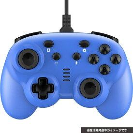 サイバーガジェット CYBER Gadget CYBER・ジャイロコントローラー ミニ 有線タイプ(SWITCH 用) ブルー CY-NSGYCMW-BL【Switch】 【代金引換配送不可】