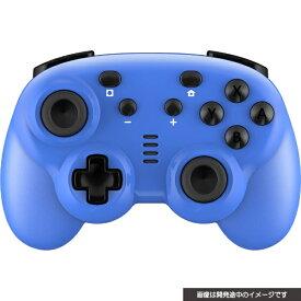 サイバーガジェット CYBER Gadget CYBER・ジャイロコントローラー ミニ 無線タイプ(SWITCH 用) ブルー CY-NSGYCMB-BL【Switch】