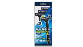 ドルコ DORCO ドルコ2枚刃ディスポオープン式ヘッド首振りヘッド3本ラバー付き