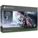 マイクロソフト Microsoft Xbox One X 1TB(Star Wars ジェダイ:フォールン・オーダー デラックス エディション同梱…