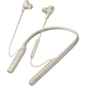 ソニー SONY ブルートゥースイヤホン プラチナシルバー WI-1000XM2SM [リモコン・マイク対応 /ワイヤレス(ネックバンド) /Bluetooth /ハイレゾ対応 /ノイズキャンセリング対応][ワイヤレスイヤホン WI1000XM2SM]