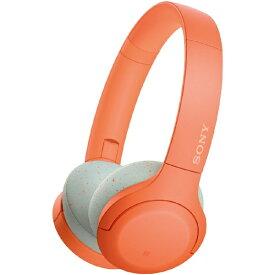 ソニー SONY ブルートゥースヘッドホン オレンジ WH-H810 DM [リモコン・マイク対応 /Bluetooth /ハイレゾ対応][WHH810DM]