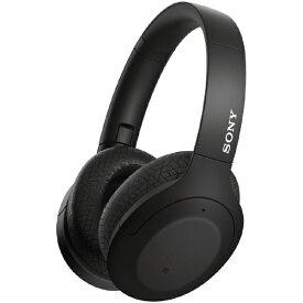 ソニー SONY ブルートゥースヘッドホン WH-H910N BM ブラック [リモコン・マイク対応 /Bluetooth /ハイレゾ対応 /ノイズキャンセリング対応][ワイヤレスヘッドホン][WHH910NBM]