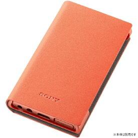 ソニー SONY ウォークマンNW-A100シリーズ 専用ソフトケース CKS-NWA100 DM オレンジ
