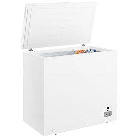ハイセンス Hisense 《基本設置料金セット》HF-198JW 冷凍庫 ホワイト [1ドア /上開き /198L][HF198JW]