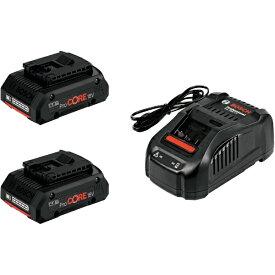 BOSCH ボッシュ ボッシュ バッテリー充電器セット PROCORE18V4S2 6250