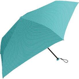 中谷 NAKATANI 【折りたたみ傘】超軽量折り畳み傘 ピンドット 839002 エメラルド [50cm]