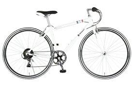 ルノー RENAULT 700×28C クロスバイク ルノー RENAULT ALCRB7006 LIGHT(Snow White/外装6段変速) 61107-12【2020年モデル】【組立商品につき返品不可】 【代金引換配送不可】