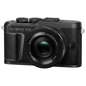 オリンパス OLYMPUS PEN E-PL10 ミラーレス一眼カメラ 14-42mm EZ レンズキット ブラック [ズームレンズ][PENEPL10EZレンズキット]