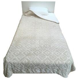 西川 NISHIKAWA MOFUMOFU 毛布(丸編みシープ) MD9062F(シングルサイズ/140×200cm/ベージュ)
