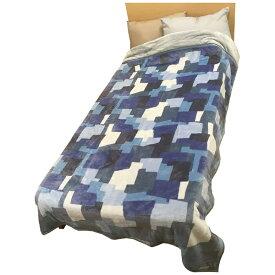 西川 NISHIKAWA 発熱わた入れ毛布 MD9057F(シングルサイズ/140×200cm/ブルー)