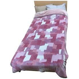 西川 NISHIKAWA 発熱わた入れ毛布 MD9057F(シングルサイズ/140×200cm/ピンク)