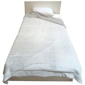 西川 NISHIKAWA MOFUMOFU 毛布(ラビットファー) MD9064F(シングルサイズ/140×200cm/グレー) FQ09055012GR グレー