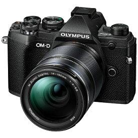 オリンパス OLYMPUS OM-D E-M5 Mark III ミラーレス一眼カメラ 14-150mm II レンズキット ブラック [ズームレンズ][OMDEM5MARK314150MM]