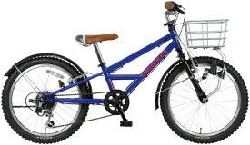 MARUKIN マルキン 20型 自転車 ユニバイクス 206-A(ダークブルー/外装6段変速) MK-19-021【2020年モデル】【組立商品につき返品不可】 【代金引換配送不可】