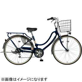 MARUKIN マルキン 26型 自転車 フロートミックス 266-B(ダークブルー/6段変速) MK-20-025【2020年モデル】【組立商品につき返品不可】 【代金引換配送不可】