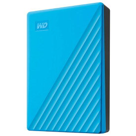 WESTERN DIGITAL ウェスタン デジタル WDBPKJ0040BBL-JESN 外付けHDD ブルー [4TB /ポータブル型][WDBPKJ0040BBLJESN]
