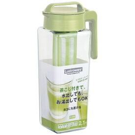 岩崎工業 IWASAKI INDUSTRY タテヨコ茶こし付スクエアピッチャー 2.2L K-1298MC[K1298MC]