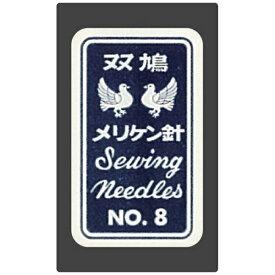クロバー Clover クロバー 双鳩メリケン針 No.8 12-008