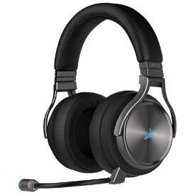 CORSAIR コルセア CA-9011180-AP ゲーミングヘッドセット VIRTUOSO RGB WIRELESS SE Gunmetal ガンメタル [ワイヤレス(USB) /両耳 /ヘッドバンドタイプ][CA9011180AP]