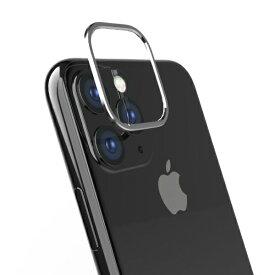 トリニティ Trinity iPhone 11 Pro 5.8インチ カメラレンズ保護アルミフレーム シルバー TR-IP19S-LB-SL
