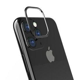 トリニティ Trinity iPhone 11 6.1インチ カメラレンズ保護アルミフレーム ブラック TR-IP19M-LB-BK