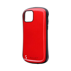 MSソリューションズ iPhone 11 Pro 5.8インチ NEW PALLET 耐衝撃ケース レッド LP-IS19PLRD