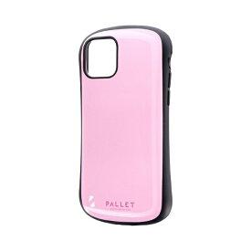 MSソリューションズ iPhone 11 Pro 5.8インチ NEW PALLET 耐衝撃ケース ピンク LP-IS19PLPK