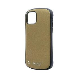 MSソリューションズ iPhone 11 Pro 5.8インチ PALLET STEEL 耐衝撃ケース イエローベージュ LP-IS19PLSBG