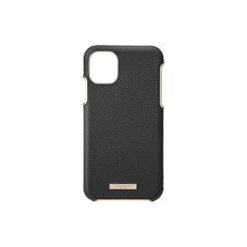 坂本ラヂヲ Shrink PU Leather Shell Case for iPhone 11 Pro 5.8インチ BLK CSCLS-IP01BLK