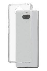 ワイモバイル Y!Mobile 耐衝撃ハイブリッドケース for Xperia 8(クリア)