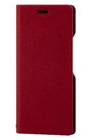 ワイモバイル Y!Mobile RILEGA Stand Flip for Xperia 8(レッド)