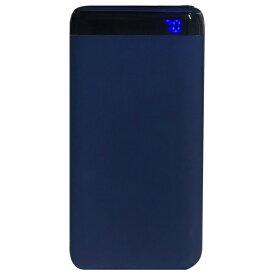 オズマ OSMA モバイルバッテリー ブルー LUCMM100CCNV [10000mAh /2ポート /充電タイプ]
