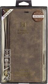 ナチュラルデザイン NATURAL design Xperia 1専用手帳型ケース Style Natural Dark Brown