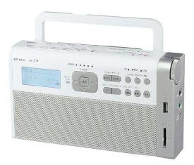 東芝 TOSHIBA SD/USB対応 録音ラジオ ホワイト TY-RHR1(W) [AM/FM /ワイドFM対応][TYRHR1W]