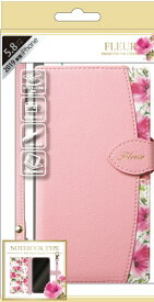 ナチュラルデザイン NATURAL design iPhone 11 Pro 5.8インチ専用手帳型ケース Fleur Pink iP19_58-FLE05