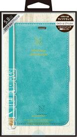 ナチュラルデザイン NATURAL design iPhone 11 Pro 5.8インチ専用手帳型ケース Style Natural Turquoise iP19_58-VS08