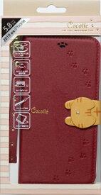 ナチュラルデザイン NATURAL design iPhone 11 Pro 5.8インチ専用手帳型ケース Cocotte Red iP19_58-COT04