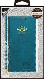 ナチュラルデザイン NATURAL design iPhone 11 Pro 5.8インチ専用手帳型ケース FLAMINGO Turquoise iP19_58-FL01